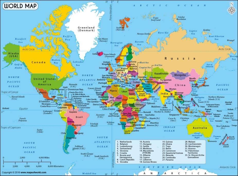 Latest World Map.World Map Kathryn Anywhere