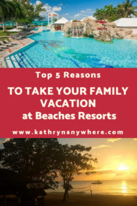 TOP 5 REASONS TO TAKE YOUR FAMILY VACATION AT BEACHES RESORTS Between 2 locations in Jamaica and one in Turks and Caicos, it's a win win for for families! #beachesresorts #caribeeanresorts #beachesnegril #provinciales #negriljamaica #familyresorts #bestfamilyresorts #bestfamilycaribbeanresorts #luxuryfamilyvacations #travelblog #familytravelblog #bestfamilytravelblogs #beachesmoms #pirateisland #familyvacationsinturksandcaicos #familyvacationsinjamaica