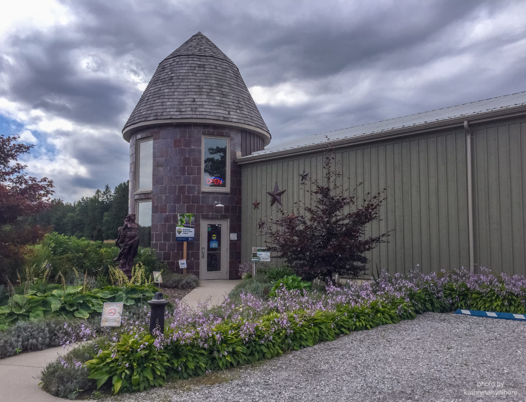 the french chateau exterior of bonnieheath lavender and winery