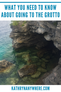 What You Should Know About The Tobermory Grotto #tobermory #brucepeninsula #parkscanada #grotto #brucepeninsulagrotto #tobermorygrotto #hikingthebruce #brucetrail #dangerousplaces #rockyterrain #bestfamilytraveltravelblogger #ontariofamilyadventures