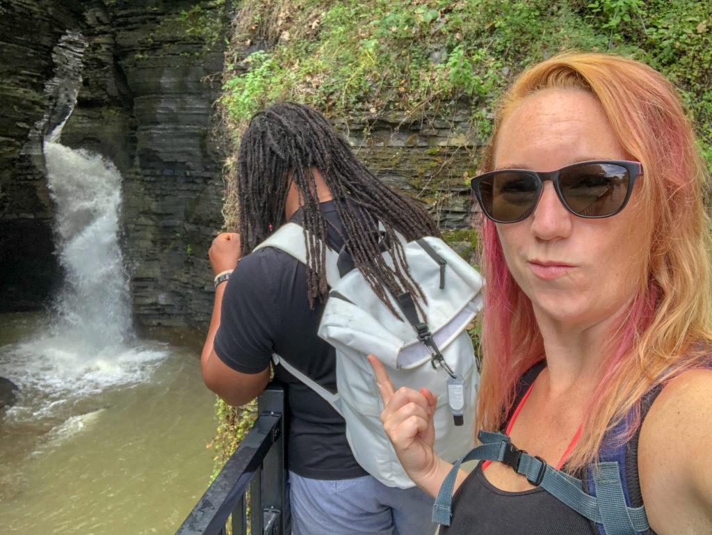 Watkins Glen State Park, New York, Gorge Trail #chasingwaterfalls #momswhohike #friendswhohike #hikingday #waitwhatseries #waterfallchasers #myFLXtbex #watkinsglenstatepark #watkinsglengorgetrail #watkinsglengorge #upstateNY #fingerlakes #watkinsglen #racinghistory #upstatenewyork #iloveny #hikingmom #hikingadventures #womenwhohike #girlswhohike #sheexplores #empirestateofmind #empirestate #sheadventures #liveyouradventure #wildnewyork #hikeNewYork #chrisrudder #rudderless