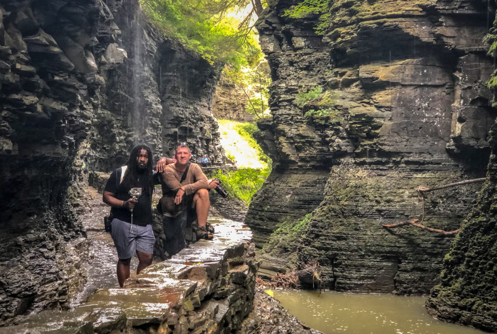 Chasing Waterfalls in Watkins Glen State Park, New York, Gorge Trail with Christopher Rudder and Kevin Wagar