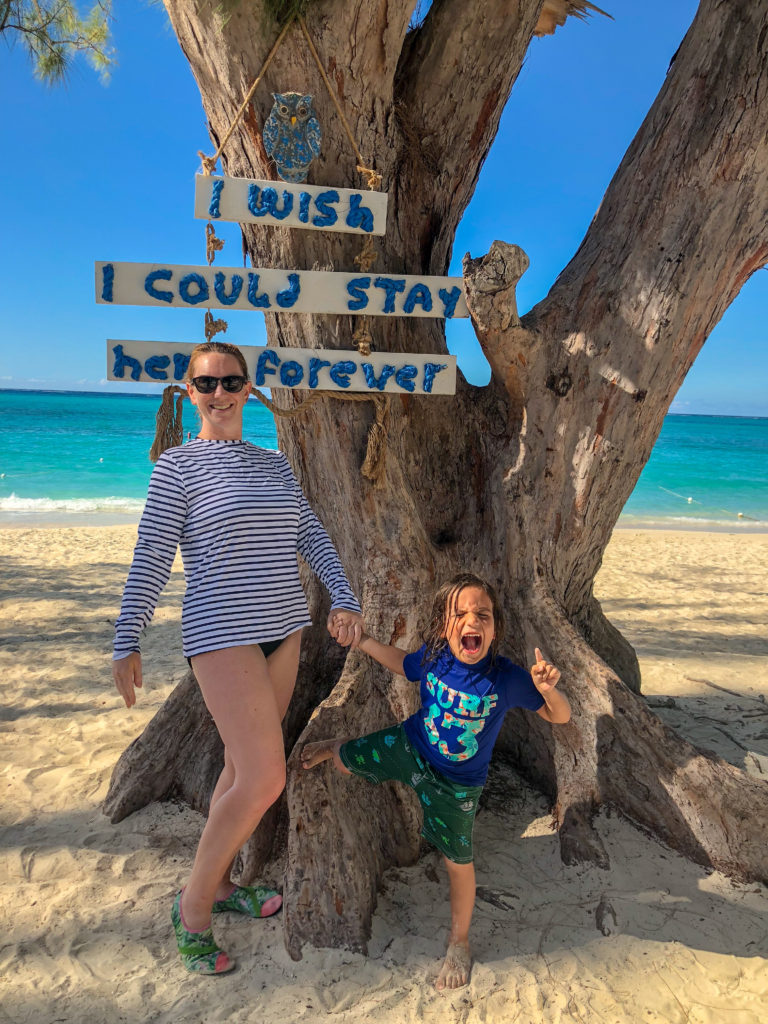 Little Man and I wish we Could Stay in Turks and Caicos forever #BeachesMoms #beachesturksandcaicos #livingmybestlife