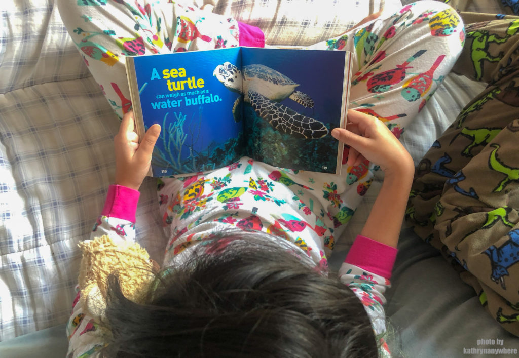 Weird but True Reading #natgeokids #momsmeet #ngkids #weirdbuttrue #bookseries #kidsbooks #funbooksforkids