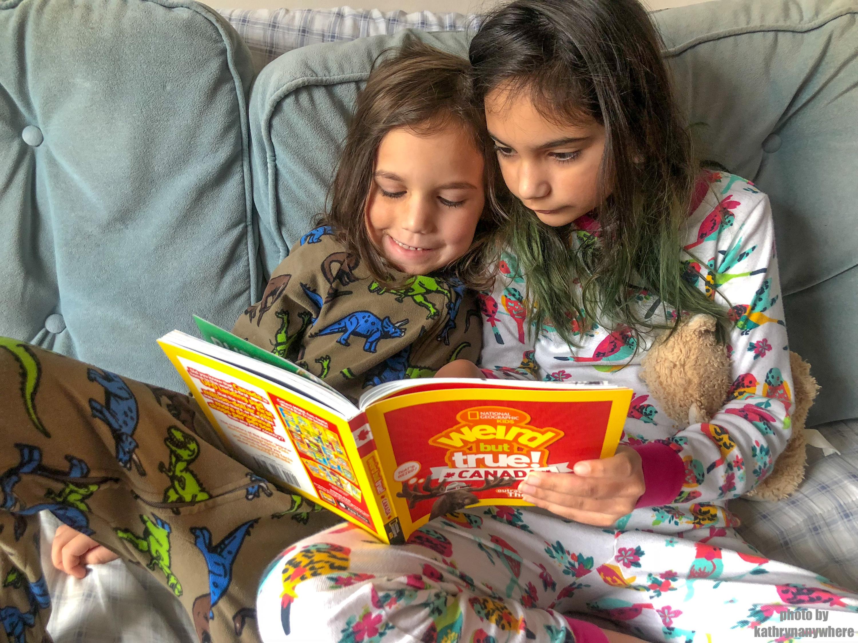 Weird but True Canada Reading #natgeokids #momsmeet #ngkids #weirdbuttrue #bookseries #kidsbooks #funbooksforkids