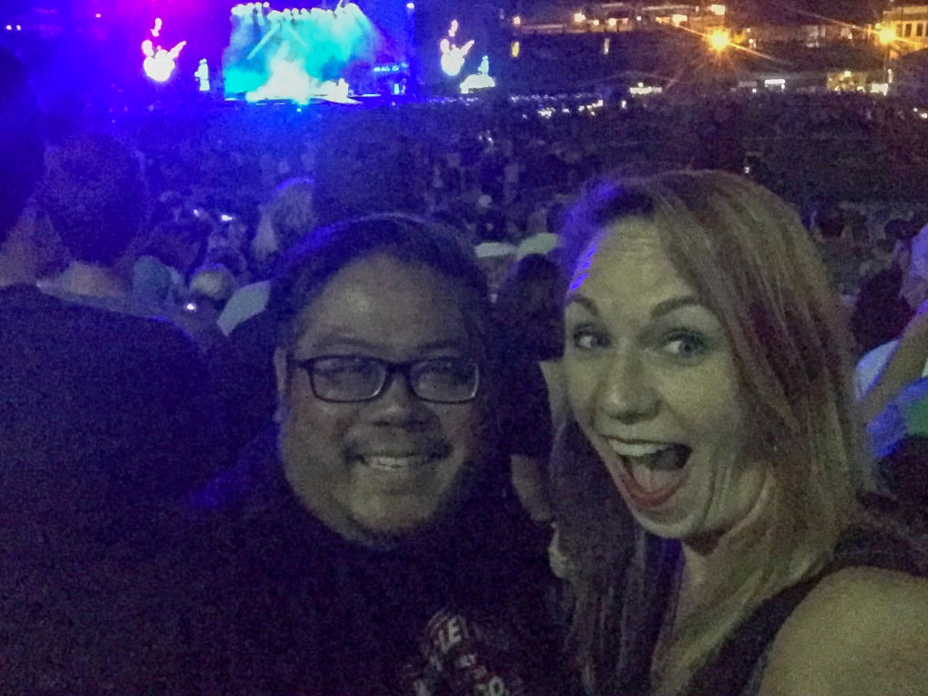 Seeing the Foo Fighters in Chicago, July 30, 2018 #chicagofoofighters #foofighters #goodtimesinchicago
