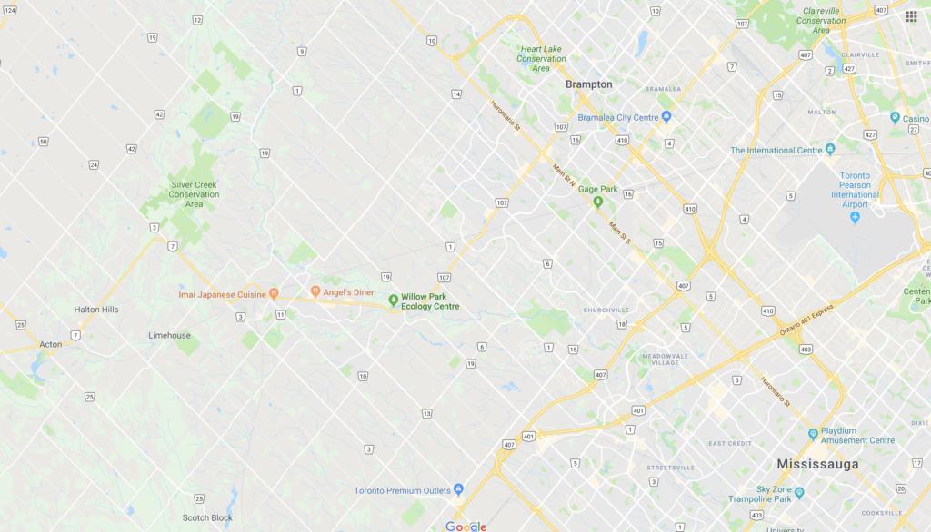 Google Map of Silvercreek conservation area #DiscoverOntario #Yourstodiscover #explorecanada