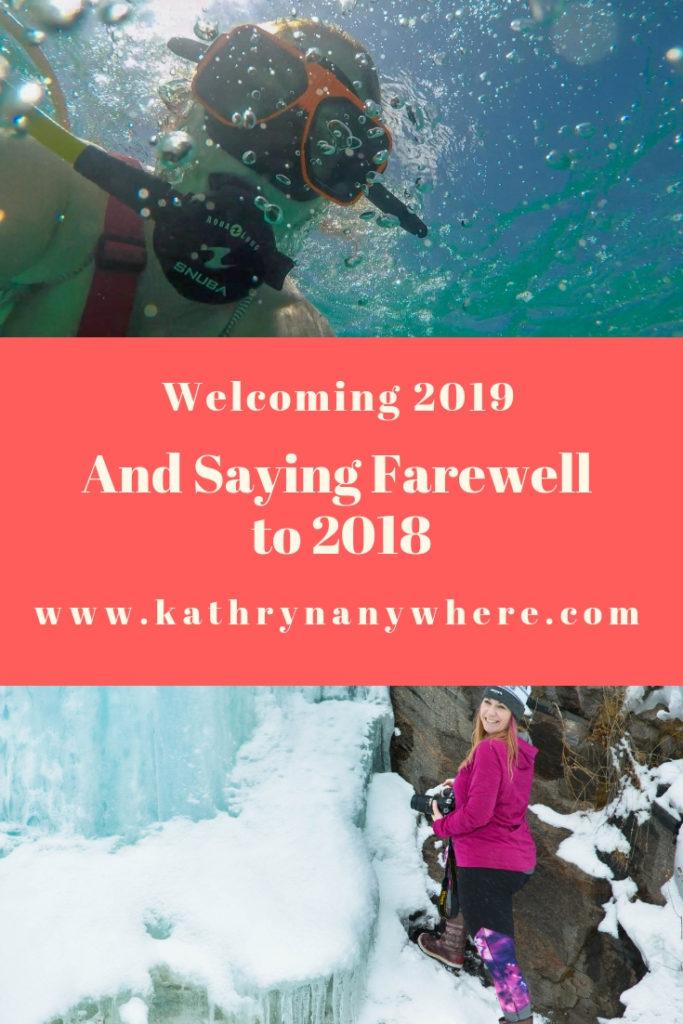 Welcoming 2019 and Saying Farewell to 2018 #newyear #kathrynanywhere #newhair #pinkhairdontcare #beachesmoms #beachesturksandcaicos #myFLXtbex, #fingerlakes #watkinsglen #ontariotravel #discoverontario #norfolkcounty