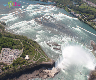 Soaring over Niagara Falls in a Helicopter with Yashy Murphy, Baby And Life