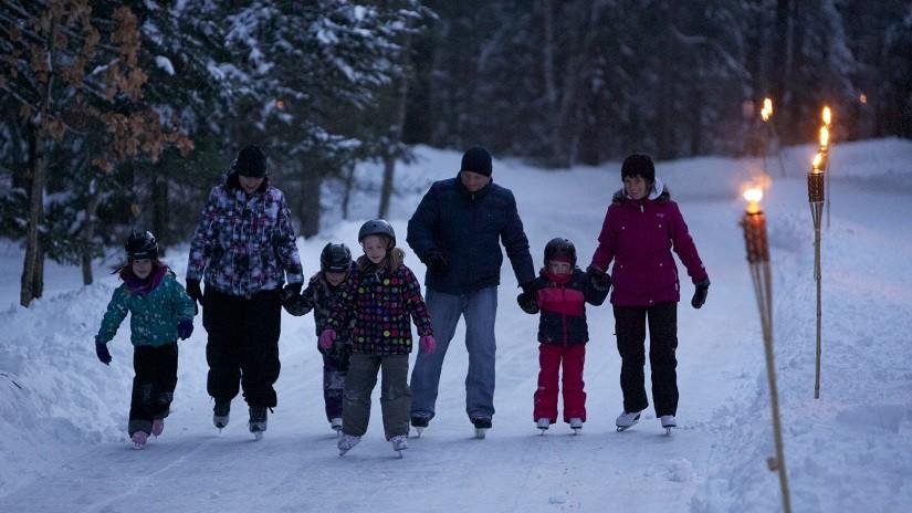 Skating Trail at Arrowhead Provincial Park #ONTARIOPARKS #exploreontario #followsummer