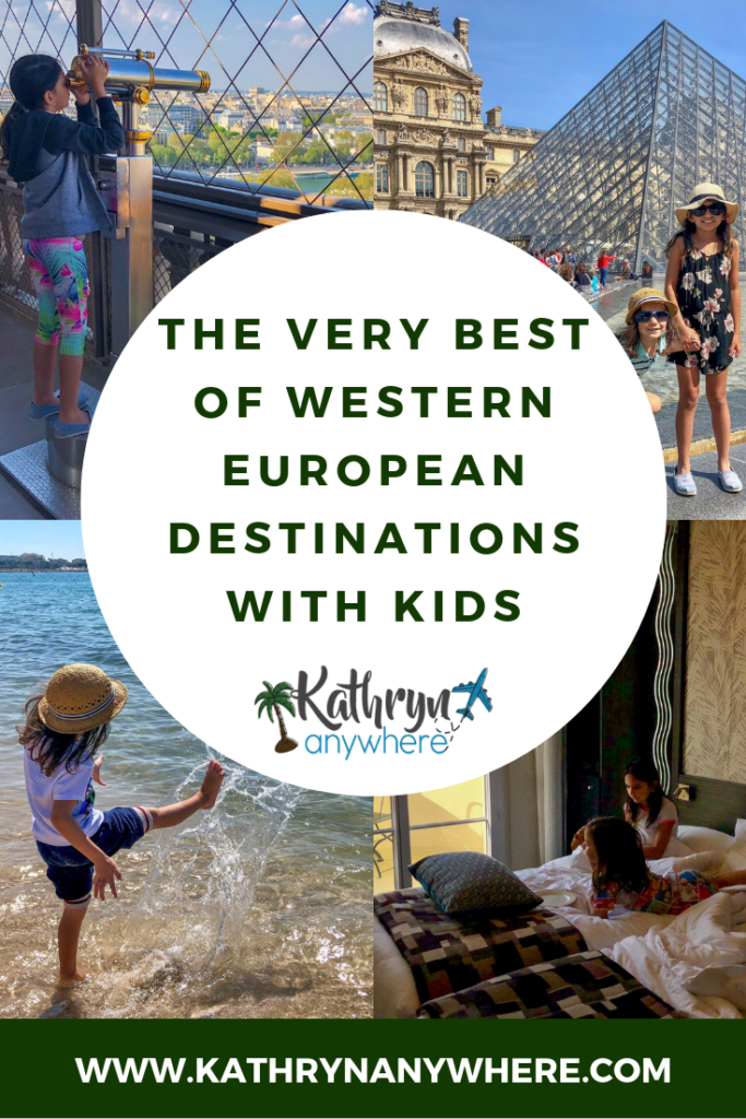 The very best of Western European destinations with kids. We visited the Family friendly cities of Lisbon, Barcelona, Marseille, Cannes, Milan and Paris during our trip in April 2019.