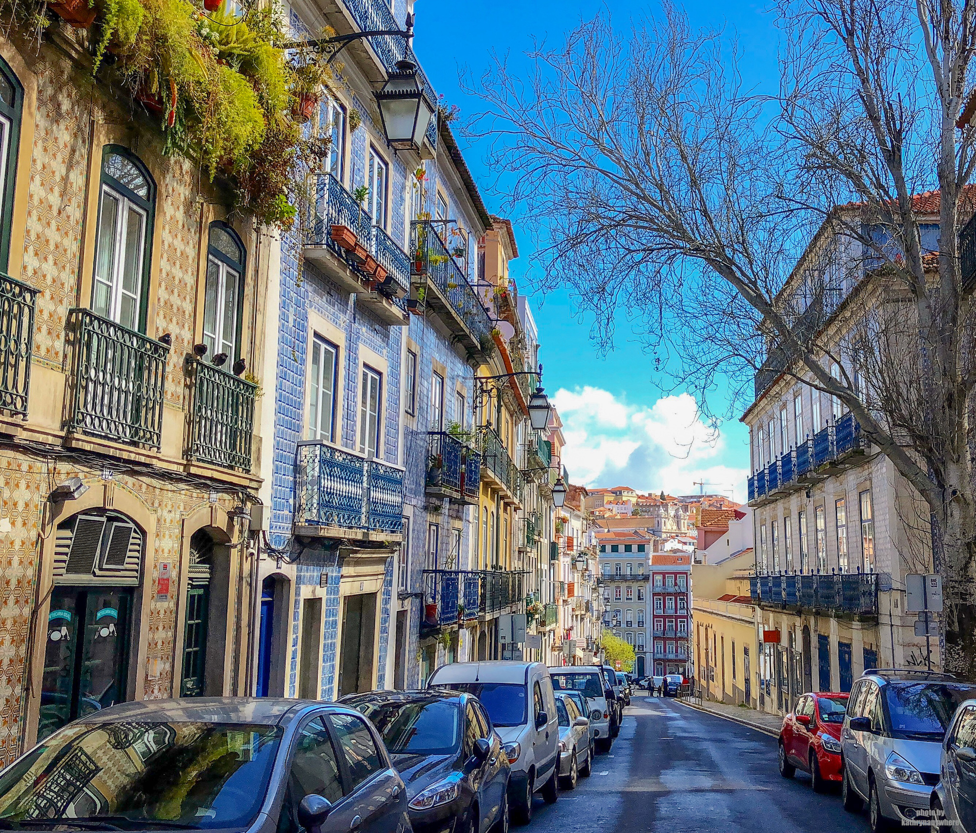 picturesque streets of Lisbon, Portugal. First stop on the best of Western Europe vacation