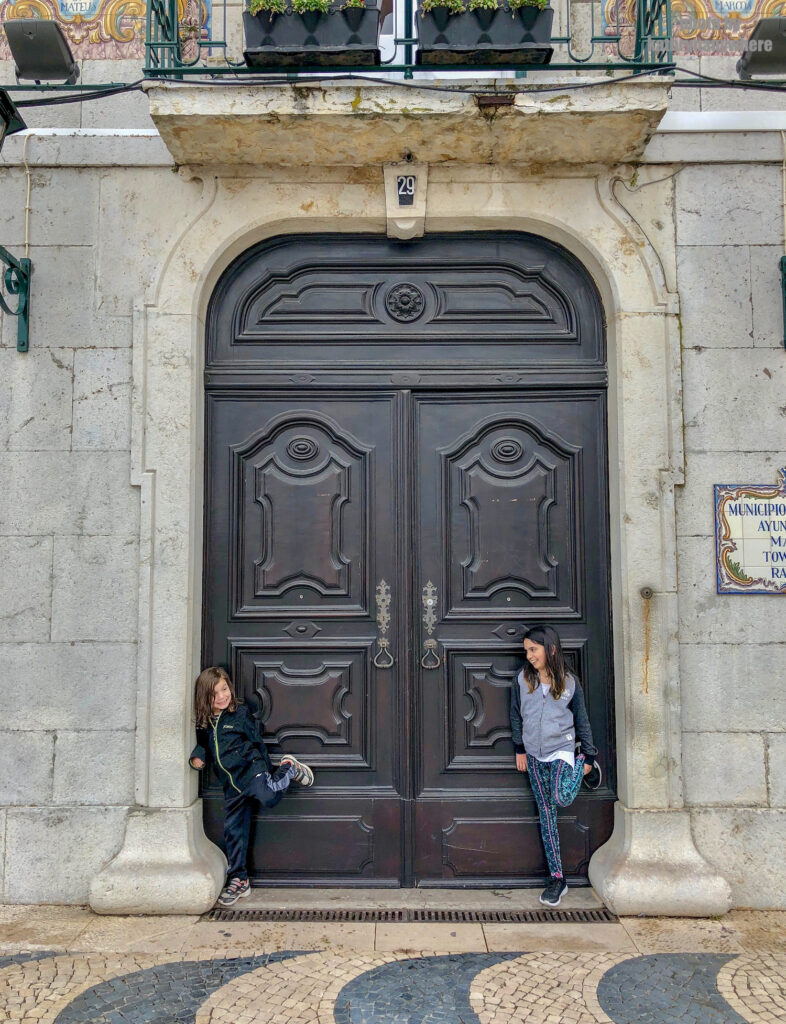 The doors of Lisbon, Barcelona and Paris. This door is from Cascais on the coast in the Lisboa province.
