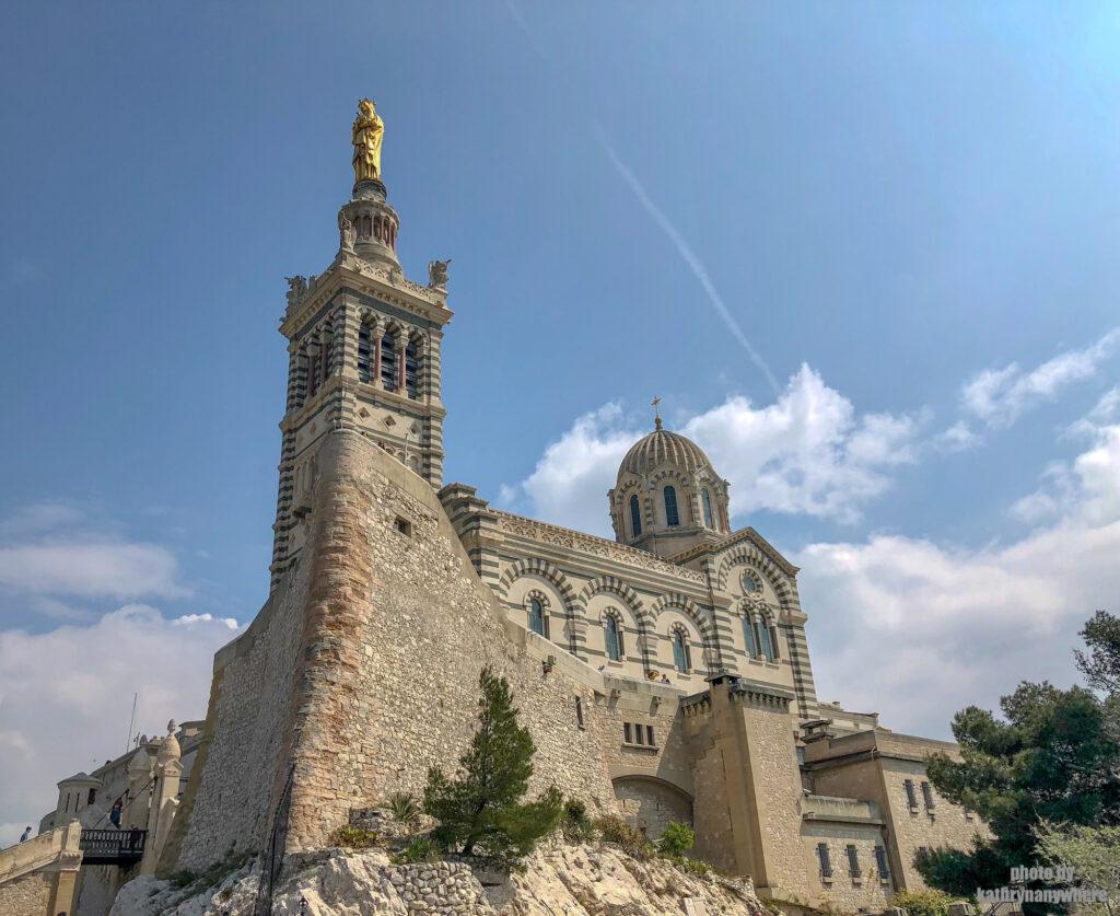 The magnificent Notre Dame de la Gard in Marseille, France