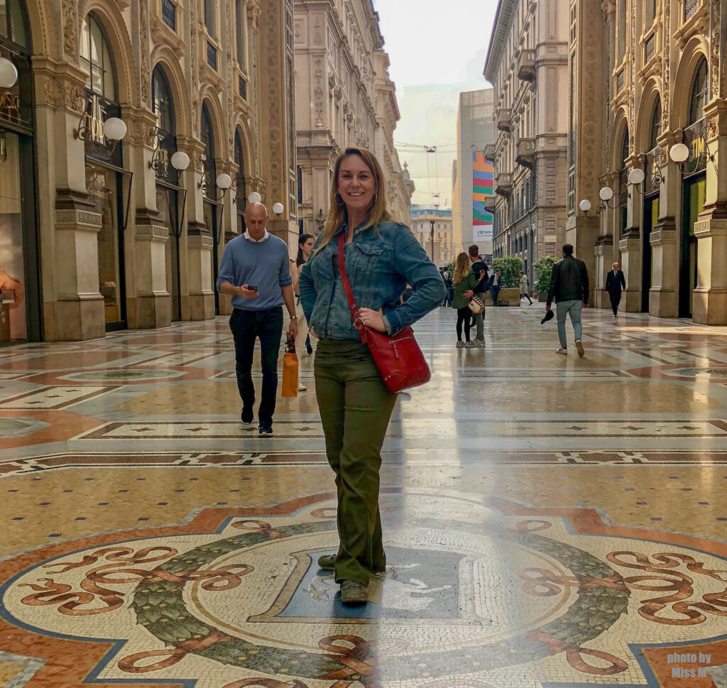 Rare photo of me alone in Milan, Italy