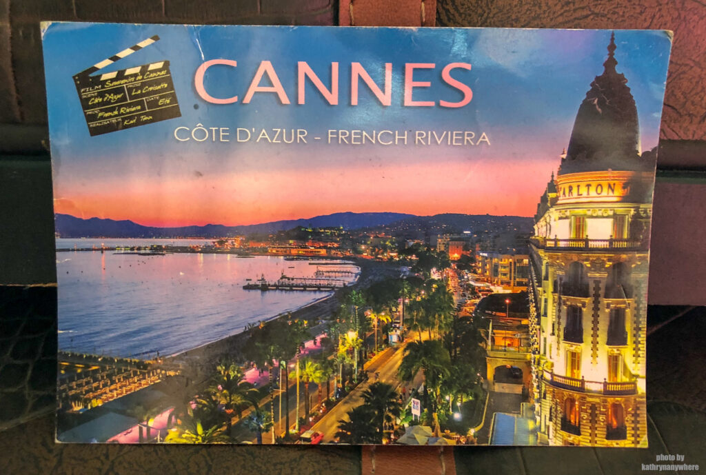 The postcard of Cannes that started it all.