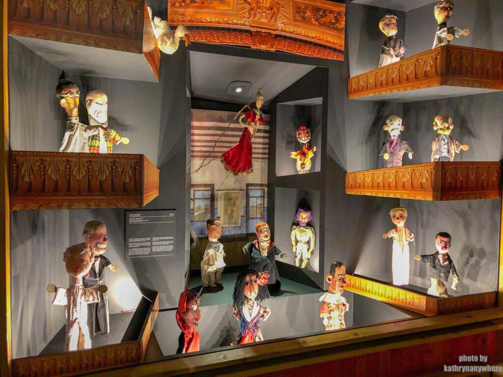 The Puppet Museum, Museu da Marioneta, Lisbon Portugal, Lisboa