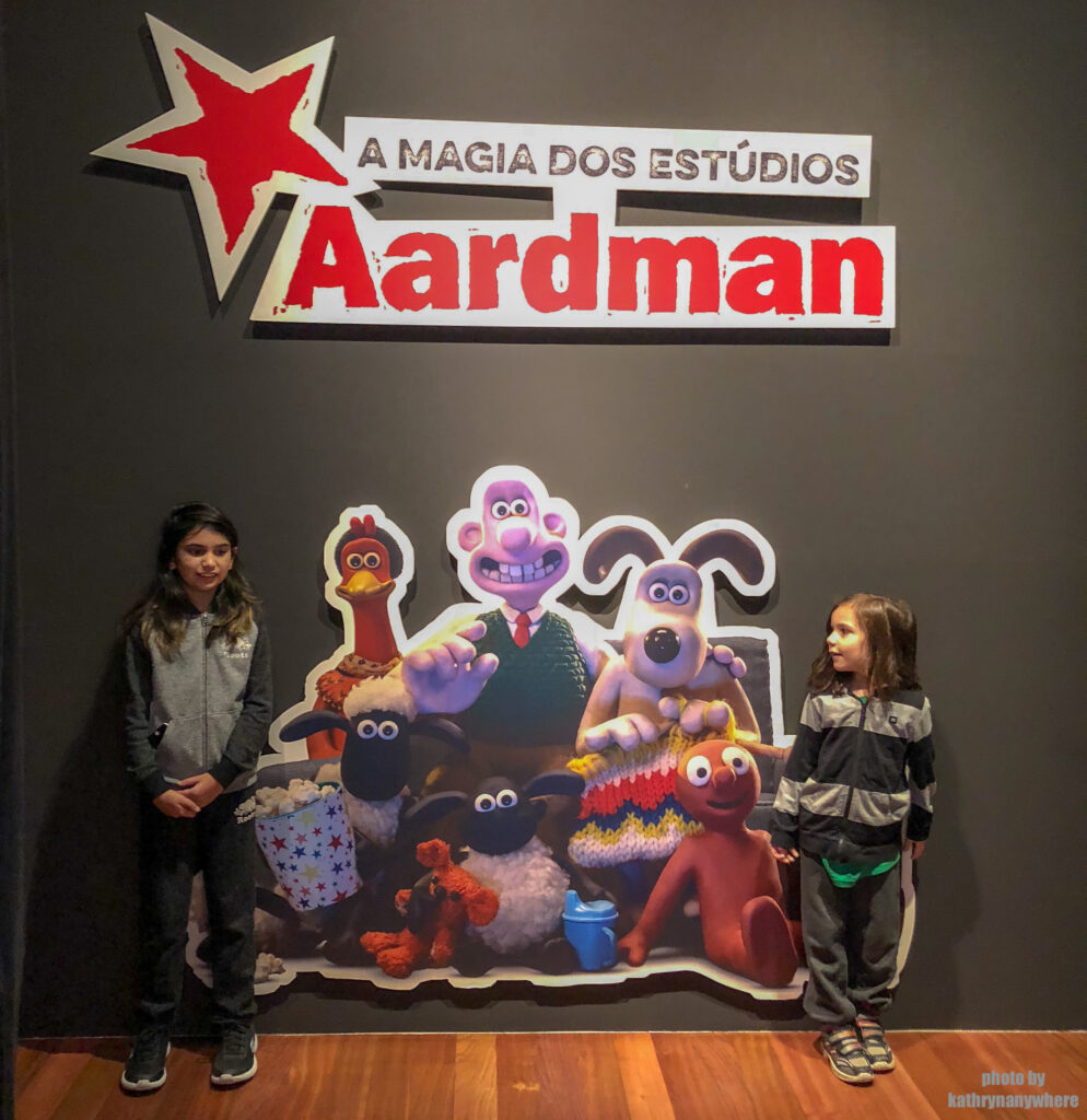 The magic of Aardman studios at Lisbon Museum