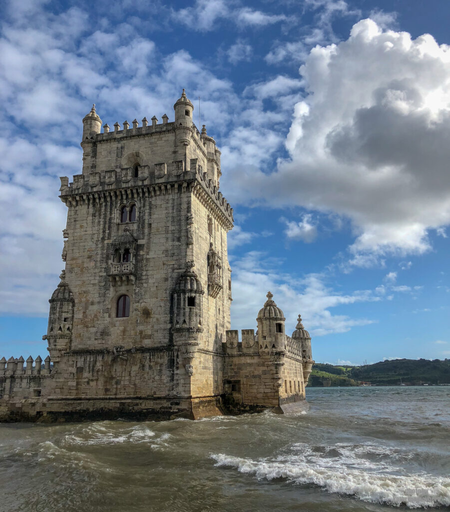 Another view of the Tower of Belem