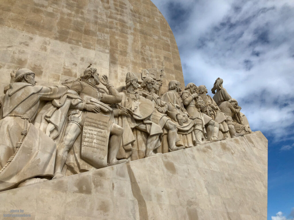 Monument to the Discoveries in Lisbon 52 metres tall, this monument commemorates the five hundredth anniversary of the death of Henry the Navigator, who discovered the Azores, Madeira and Cape Verde in Lisbon.