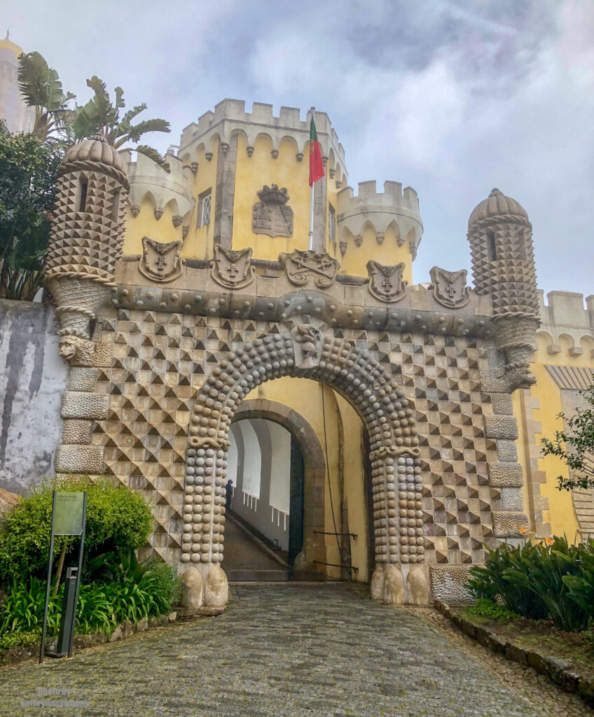 second gates of Pena National Palace, Lisboa, Portugal
