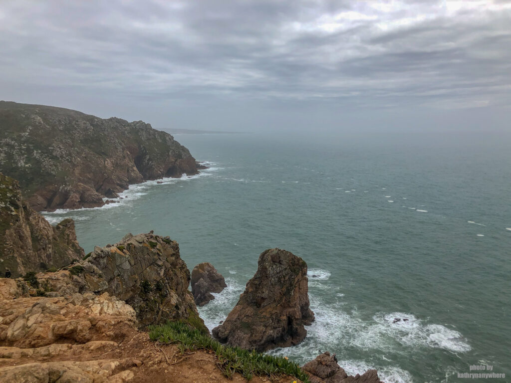 Cabo da Roca. I've been to the eastern tip of North American and now the continental west of Europe. Only a small swim between them!