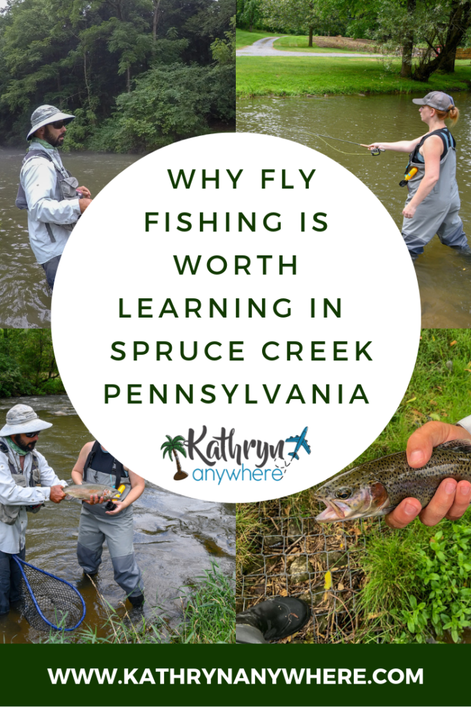 WHY FLY FISHING IN SPRUCE CREEK, PENNSYLVANIA IS WORTH LEARNING #RaystownLakeRegion #HomeWaters #flyfishinggirls #flyfishingwomen #womenanglers #rivertrout #catchandrelease #rainbowtroutfishing #rainbowtroutflyfishing #sprucecreek Some photos by Ed Stoddard / Visit Penn State / State College / Communications Director Central PA Convention & Visitors Bureau www.visitpennstate.org