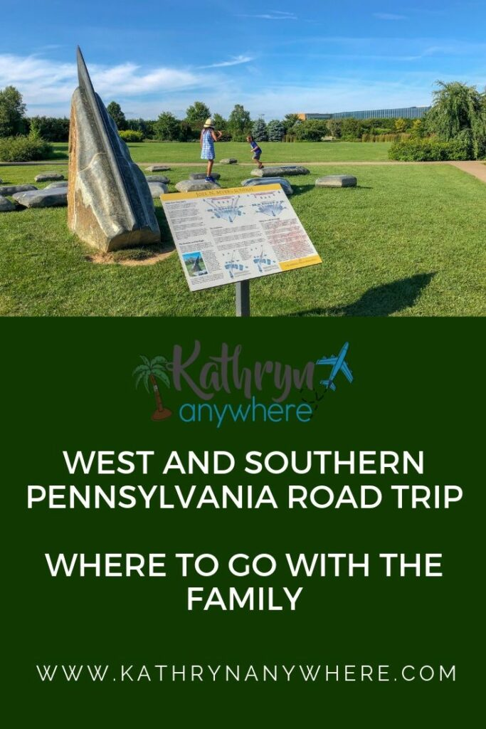 West and southern Pennsylvania road trip - where to go and what to do with the family in Butler County, Penn State and the Raystown Lake Regions #familyroadtrips #pennsylvaniaroadtrip #familytravelblogs #bestfamilytravelblogger