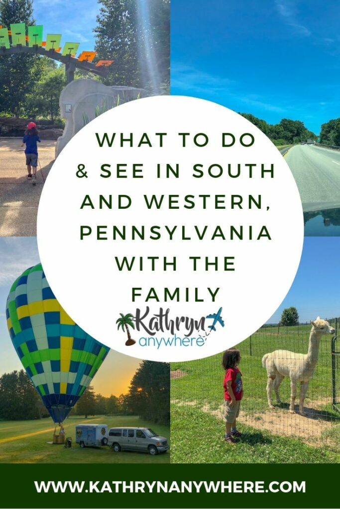 Pennsylvania Road Trip - What to do and what to see in Slippery Rock, Portersville, State College, Spruce Creek and Raystown areas of Pennsylvania #familyroadtrips #pennsylvaniaroadtrip #familytravelblogs #bestfamilytravelblogger