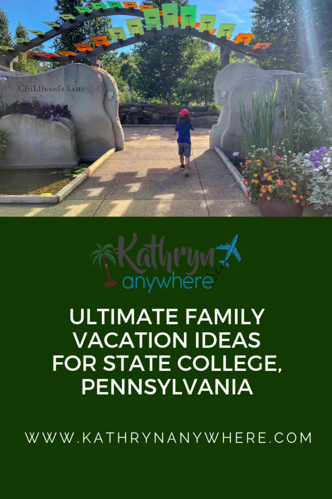 WHAT TO DO AND WHERE TO GO TO HAVE THE ULTIMATE FAMILY VACATION IN STATE COLLEGE, PENNSYLVANIA - CAVING, HOT AIR BALLOON, DINING, FISHING, DISCOVERING