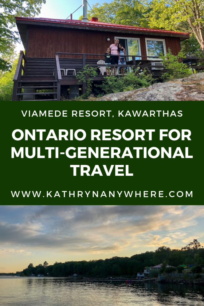 If you're looking for an Ontario getaway for a multigenerational family, Viamede Resort in the Kawartha Lakes district offers a great experience for all! #kawarthahighlands #NoFilterPtbo #viamederesort #ptbocanada #ThisisPtbo #Ptbo #theKawarthas #hosted #kawartha #kawarthalakes #kawarthanow