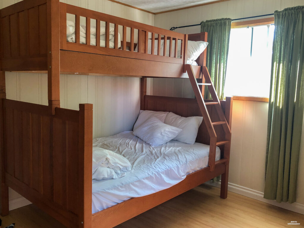 bunk beds in our cottage