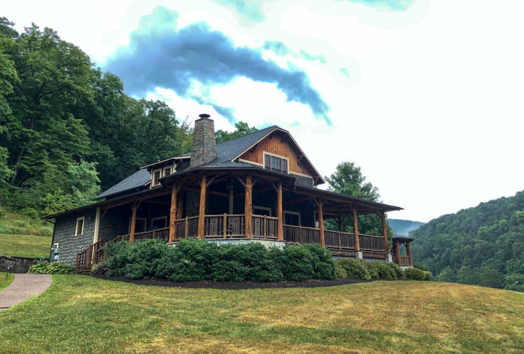 Homewaters in Spruce Creek, PA. This is an upscale fishing lodging we stayed in during our Pennsylvania road trip.