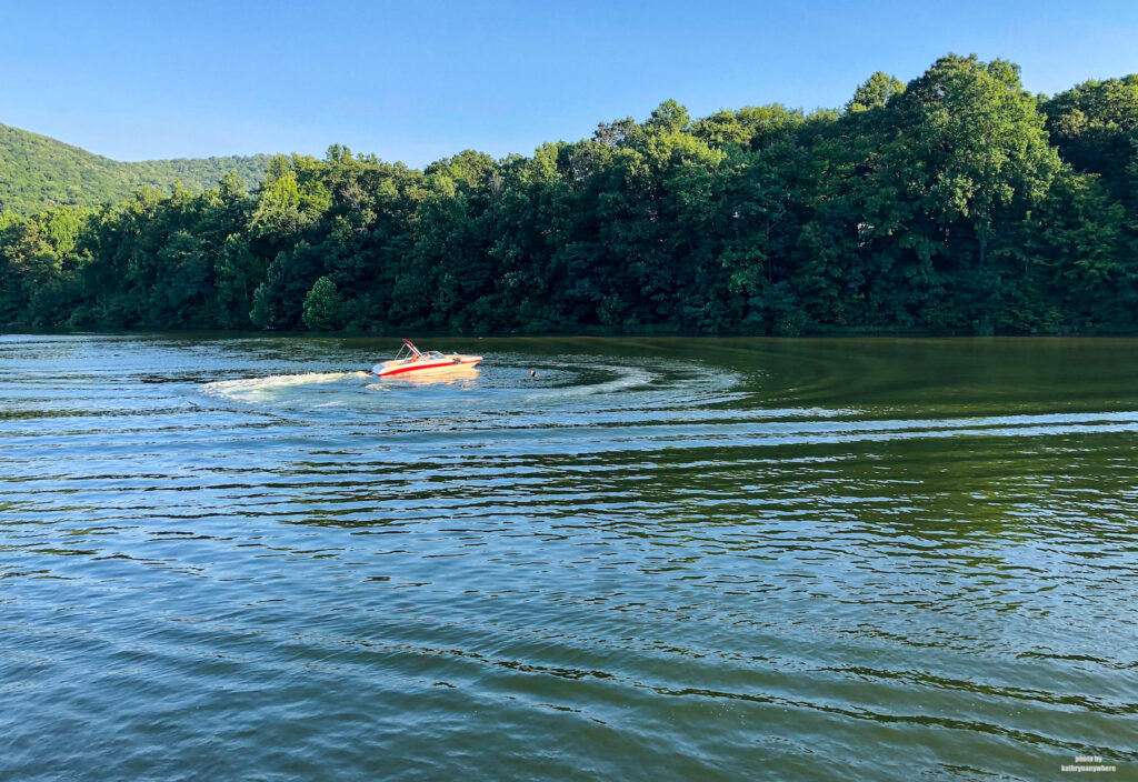 Raystown Lake in Huntington County from Lake Raystown Resort dinner cruise