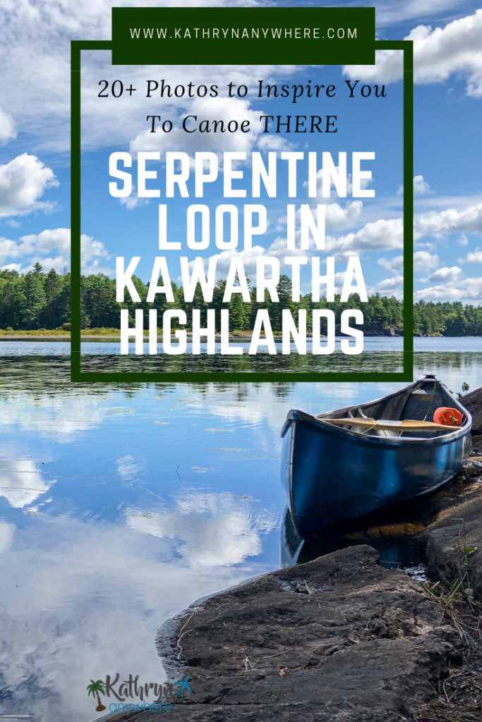 Paddle the Serpentine Loop in Kawartha Highlands Provincial Park, an provincial park in Southern Ontario. Canoe portage with friends, here are 20 photos to inspire you #FindYourselfHere #NoFilterPtbo #ThisisPtbo #Ptbo #theKawarthas