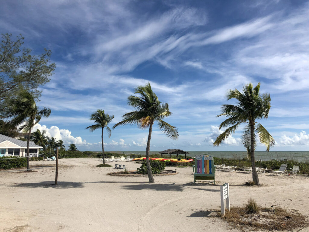 Recreation and space available at island inn on sanibel island