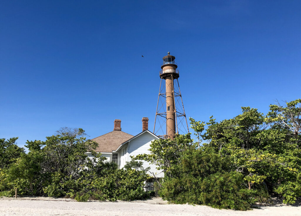 The Sanibel Island lighthouse - or Point Ybel Light was one of the first lighthouses on Florida's Gulf coast north of Key West and the Dry Tortugas.