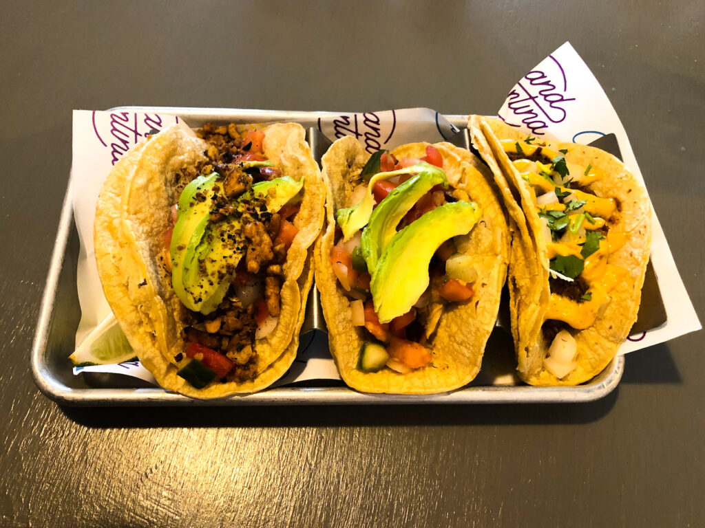 The tacos I ate in Grand Cantina, Ford City, Windsor.