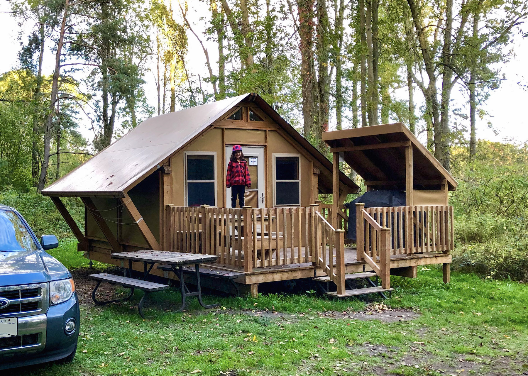 Presquile Provincial Park, Falling For the Minka Tent | Kathryn Anywhere