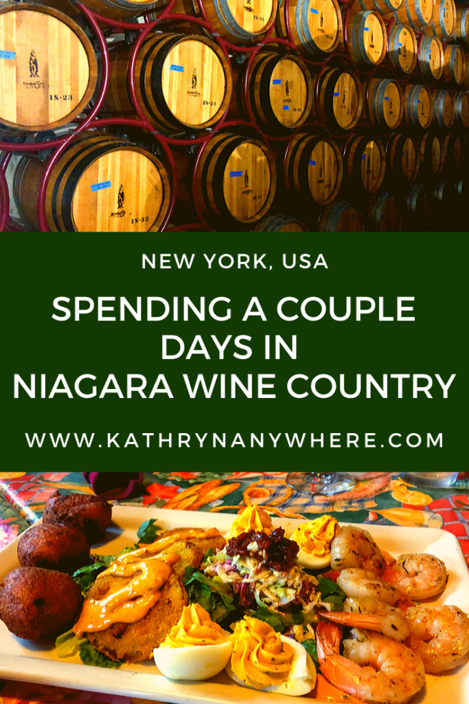 I thought that Niagara Wine Country ended at the border to the United States. I believed that there was only wine production on the Ontario side of Niagara, not on the New York side.  I was wrong.  #niagarawinecountry #niagarawinetrail #niagarawinecounty #niagarafallsny #lewiston #lewistonNY #lockport #lockportNY #arrowheadsprings #freedomrun #NYwine #NYwineries