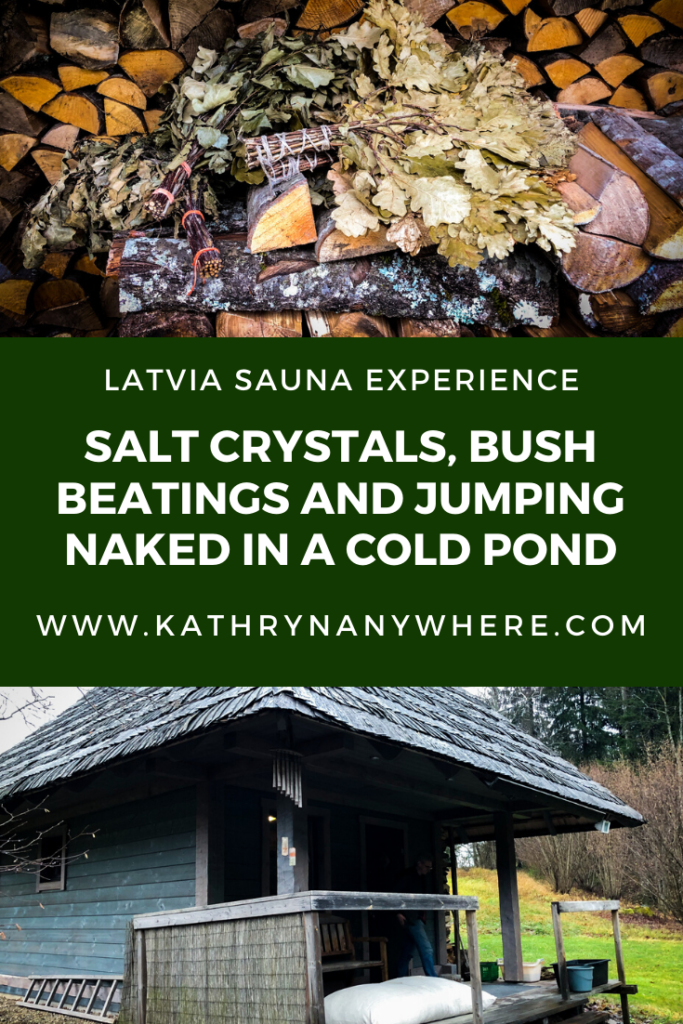 The idea of four naked women rinsing off in a shower together by North American standards is the start of a tantalizing pornographic story. In Latvia, it's purely part of the sauna ritual. Salt Crystals, Bush Beatings and Jumping Naked In A Cold Pond #Latviatravel #sauna #pirts #latvijaspirtis #latvijapirts #latviansauna #latviasauna