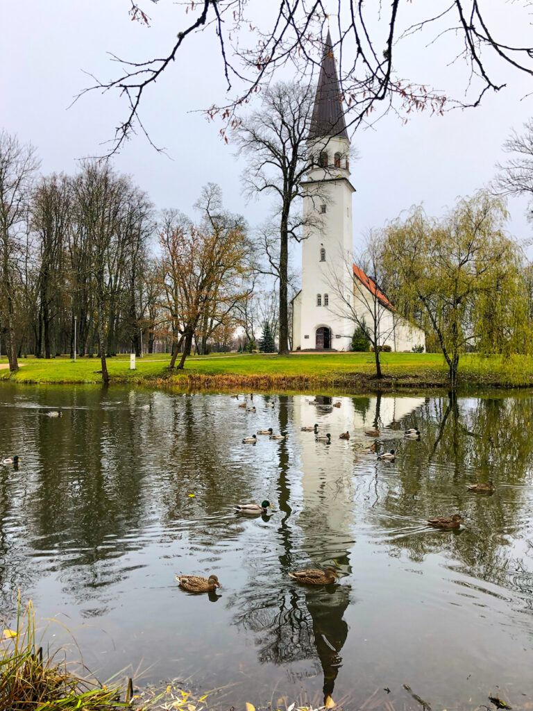 church in the town of Sigulda