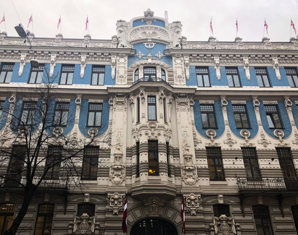 Stroll the art nouveau section of Riga and fall in love with the architecture