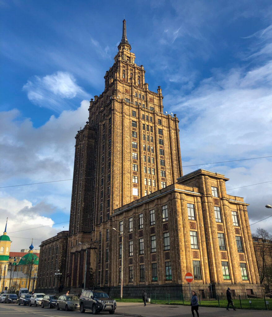 The Latvian Academy of Sciences building is a tragic eyesore. It's redeeming factor is the observation deck and view of Riga.