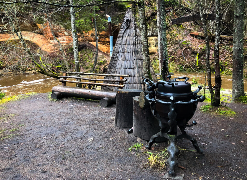 Cecīļi Nature Trail - Straight out of a fantasy movie, on this trail, were carefully crafted from wood saunas and picnic tables to relax and enjoy the atmosphere.