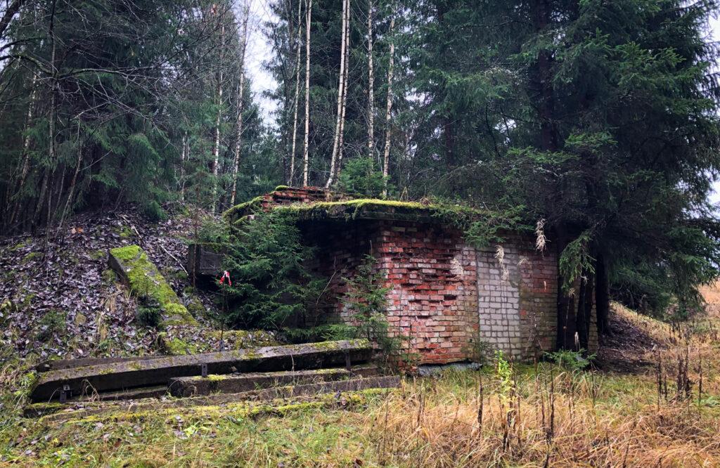 soviet bunker on the Cecīļi Nature Trail, Riga Latvia
