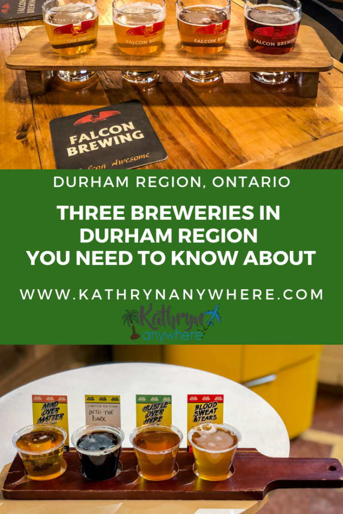 3 BREWERIES IN DURHAM REGION, ONTARIO TO VISIT AND SAMPLE. If you love craft beer in Ontario, this is the area to visit #beertourism #craftbeer #ontariobeer #durhamtourism #visitydh #thisisclarington