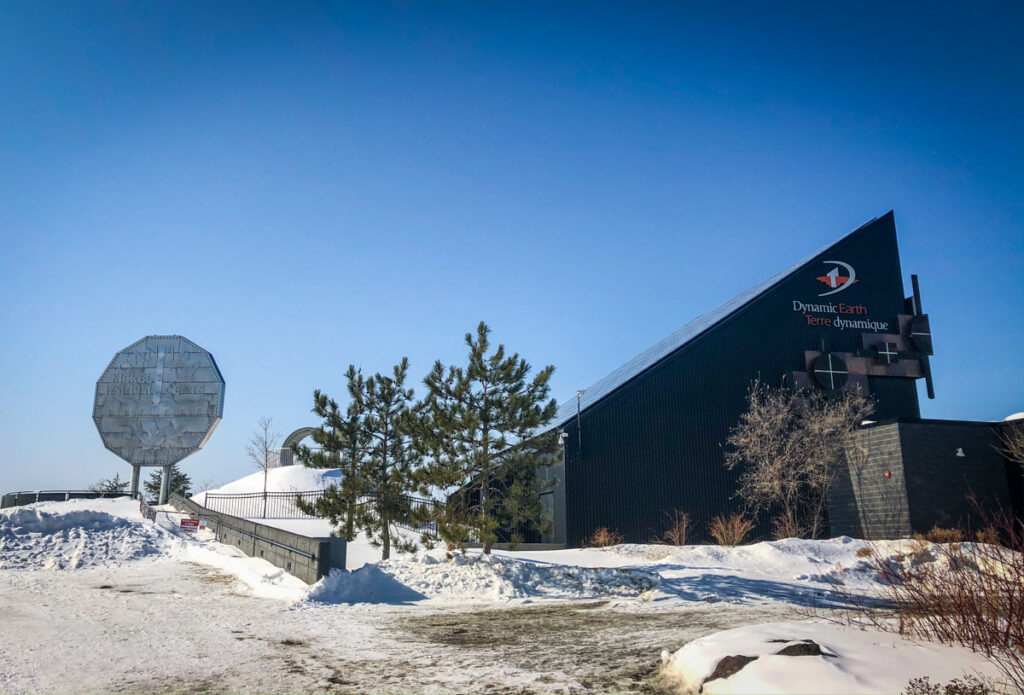 Dynamic Earth and The Big Nickel in Sudbury, Ontario
