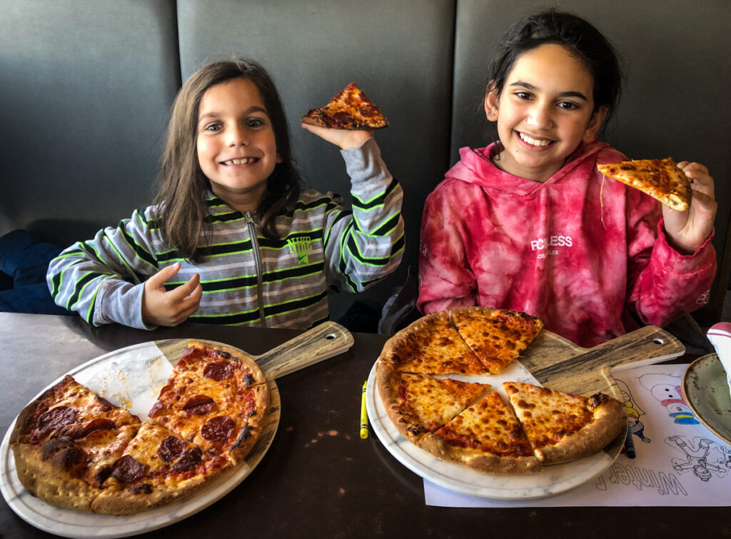 P&Ms Kouzzina kid's pizza
