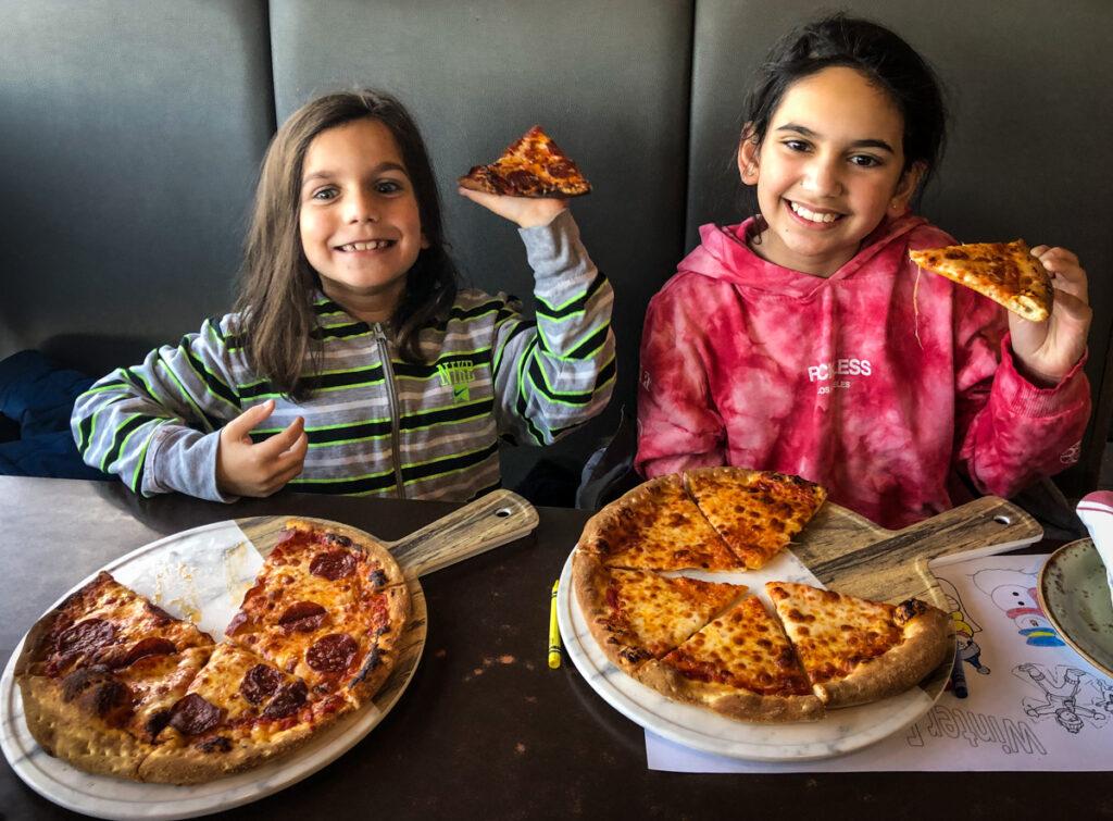 P&Ms Kouzzina kid's pizza